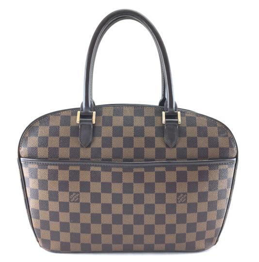 Preload https://img-static.tradesy.com/item/24475381/louis-vuitton-sarria-24502-rare-horizontal-east-west-top-zip-zipper-handbag-damier-ebene-coated-canv-0-1-540-540.jpg