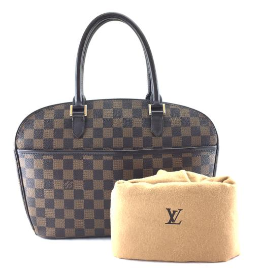 Louis Vuitton Lv Sarria Horizontal Damier Satchel in Brown Image 1