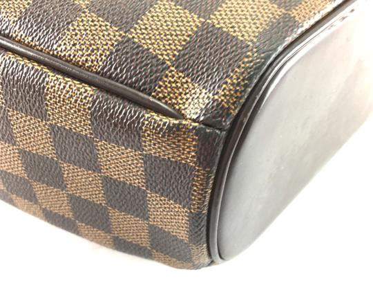 Louis Vuitton Lv Sarria Horizontal Damier Satchel in Brown Image 10