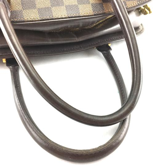 Louis Vuitton Lv Sarria Horizontal Damier Satchel in Brown Image 11