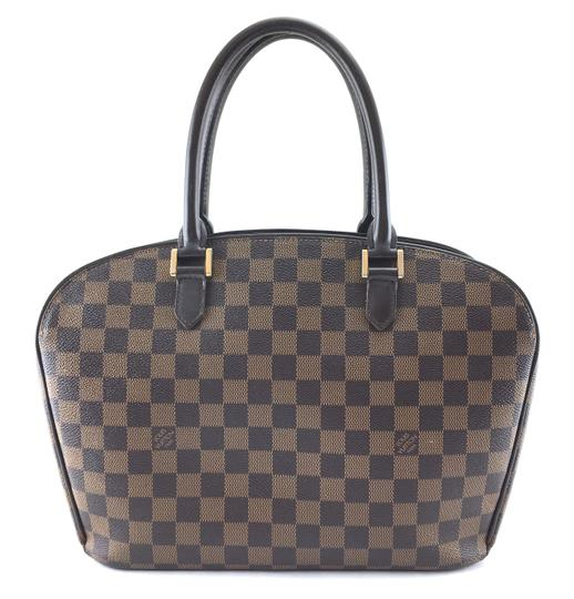 Louis Vuitton Lv Sarria Horizontal Damier Satchel in Brown Image 2