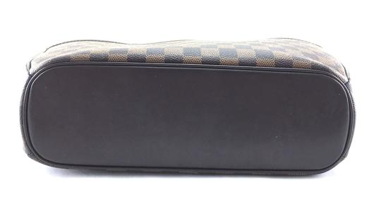 Louis Vuitton Lv Sarria Horizontal Damier Satchel in Brown Image 4