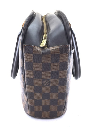 Louis Vuitton Lv Sarria Horizontal Damier Satchel in Brown Image 7