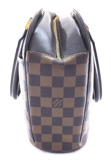 Louis Vuitton Lv Sarria Horizontal Damier Satchel in Brown Image 8