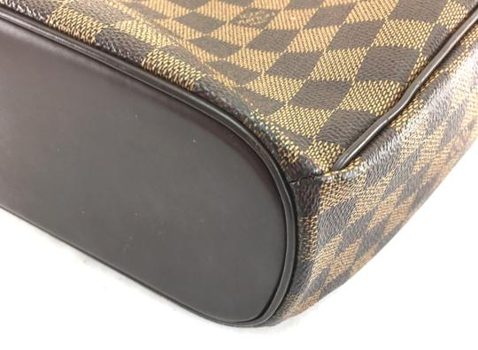 Louis Vuitton Lv Sarria Horizontal Damier Satchel in Brown Image 9