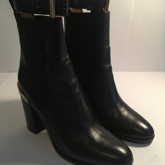 Reed Krakoff Gold Hardware Leather Soft Leather Detachable Straps Black Boots Image 2