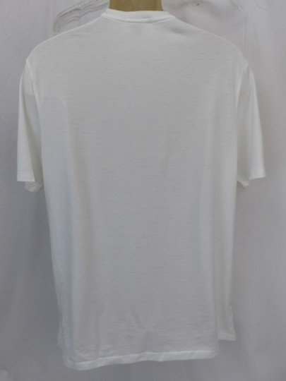 Burberry Brit White Check Nova Optic Pima Cotton Sleeves T-shirt L Shirt Image 1