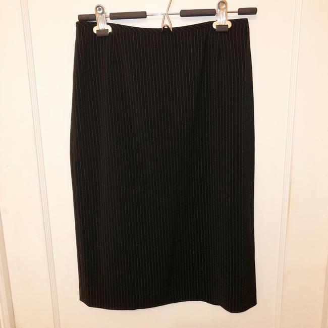 Tahari Pin Striped Skirt Suit Size 4 Image 2