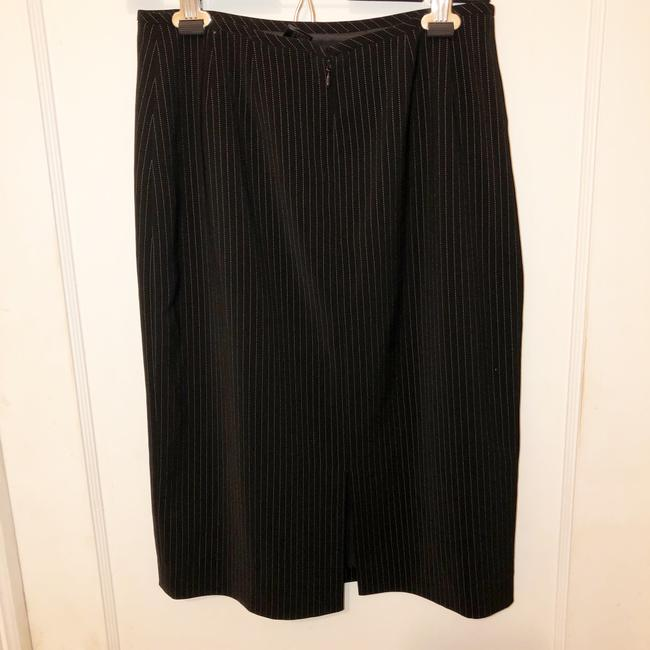 Tahari Pin Striped Skirt Suit Size 4 Image 3