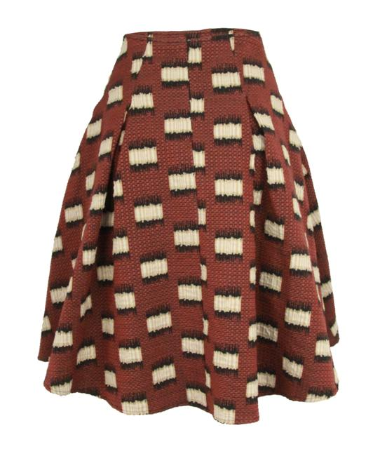 Item - Brown Maddy A-line Skirt Size 6 (S, 28)