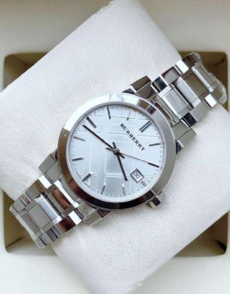 5e826800f0a Burberry Burberry Watch BU9000 Stainless Steel Unisex Watch NEW Image 5.  123456