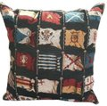 Hines of Oxford HINES OF OXFORD ENGLAND FINE TAPESTRY PILLOW CUSHION FLAGS 16
