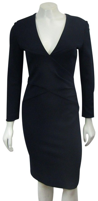 Preload https://img-static.tradesy.com/item/24475752/emilio-pucci-navy-new-md-blue-sheath-criss-cross-ruched-short-cocktail-dress-size-8-m-0-2-650-650.jpg