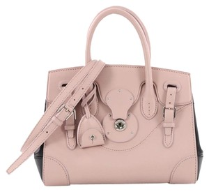 Ralph Lauren Collection Leather Satchel in pink