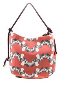 Missoni Mint Condition Sea Red/Grey/Blue/White Italian Made Shoulder Hobo Bag