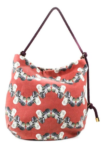 Missoni Mint Condition Sea Red/Grey/Blue/White Italian Made Shoulder Hobo Bag Image 3