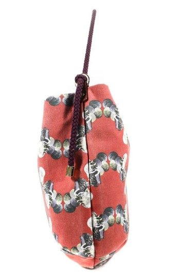 Missoni Mint Condition Sea Red/Grey/Blue/White Italian Made Shoulder Hobo Bag Image 5