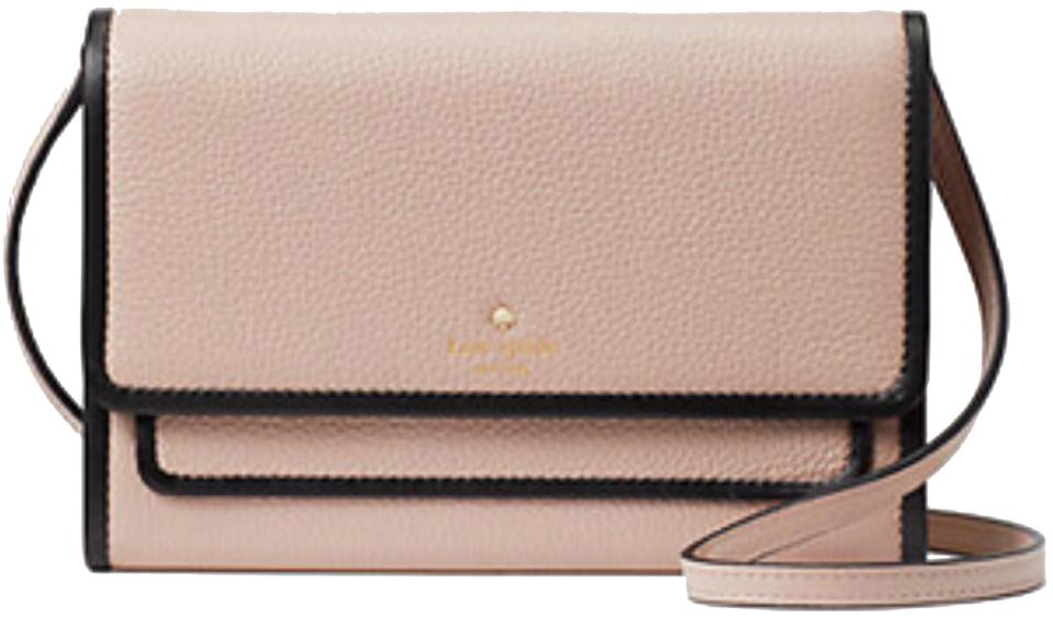 7a3f3107df Kate Spade Summer Ward Place Rose Cloud Leather Cross Body Bag - Tradesy