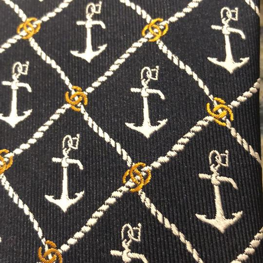 Chanel Chanel Nautical Printed Tie Image 3