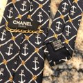 Chanel Chanel Nautical Printed Tie Image 4