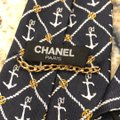 Chanel Chanel Nautical Printed Tie Image 6