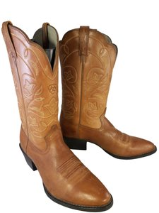 Ariat Woman Western Cowboy Heritage BROWN Boots