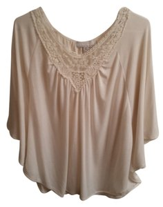 Carolyn Taylor Boho Top Off White