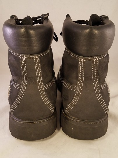 timberland Man Size 13 M Premium Leather black Boots Image 5
