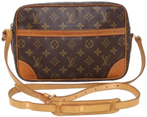 Louis Vuitton Damier Ebene Monogram Vintage Speedy Alma Cross Body Bag