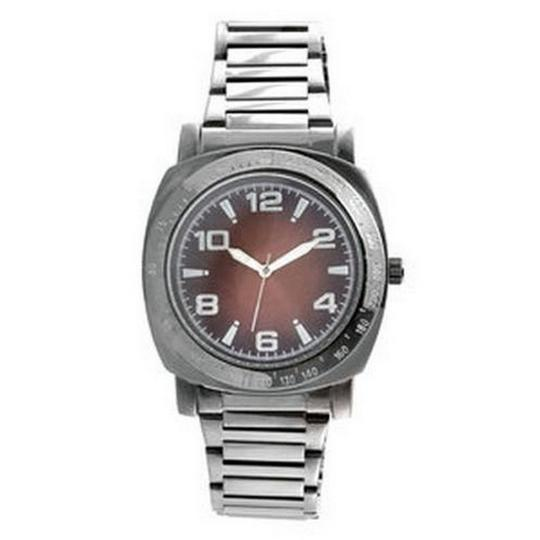 Unlisted by Kenneth Cole UL1167 Men's Gunmetal Stainless Steel Bracelet Analog Dial Watch Image 1