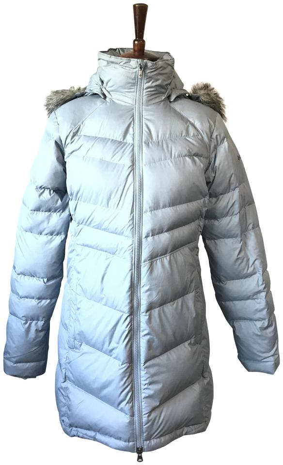 b41df1196 Columbia Sportswear Company Gray Down Feather Fill Parka Jacket Coat Size 4  (S) 50% off retail