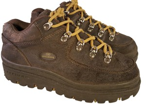 Skechers Vintage 90's Jammers Intruders BROWN Boots