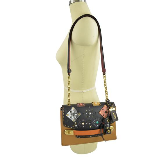 Preload https://img-static.tradesy.com/item/24476239/coach-swagger-snakeskin-patchwork-rivets-1941-chain-25476-multicolor-glovetanned-leather-cross-body-0-0-540-540.jpg