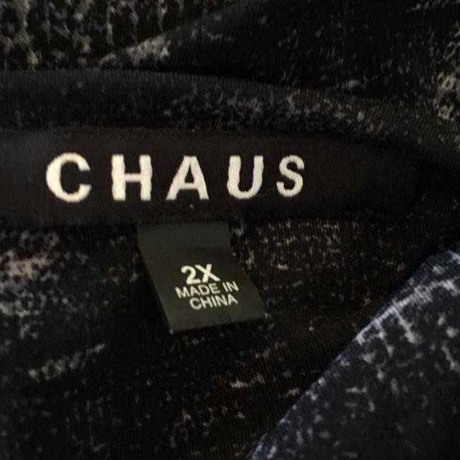 Chaus Top Black and gray Image 5
