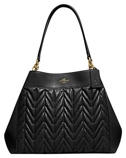 Preload https://img-static.tradesy.com/item/24476277/coach-lexy-with-quilting-f32978-black-leather-shoulder-bag-0-1-540-540.jpg