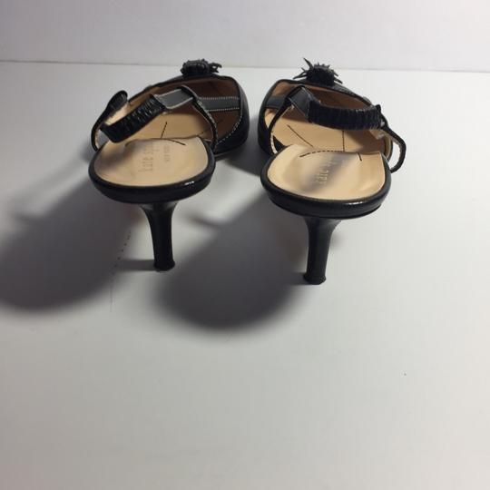 Kate Spade Leather Kitty Black Pumps Image 3