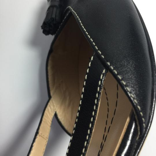 Kate Spade Leather Kitty Black Pumps Image 7
