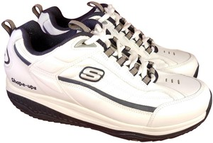 Skechers Shape-ups Work Walking Size Man 10 white Athletic