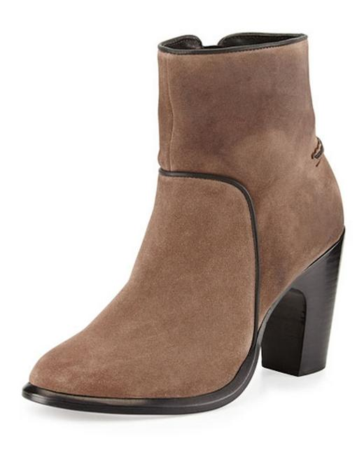 Item - Taupe Grayson Suede Ankle Boots/Booties Size EU 37.5 (Approx. US 7.5) Regular (M, B)