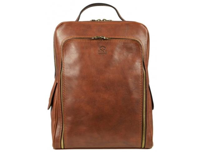 Item - The Sun Also Rises - Almond Calfskin Leather Backpack