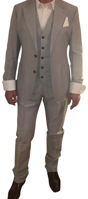 Preload https://img-static.tradesy.com/item/24476510/dolce-and-gabbana-striped-light-grey-dolce-and-gabbana-mens-three-piece-pant-suit-size-os-one-size-0-2-650-650.jpg