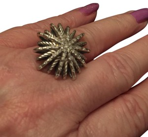 David Yurman Large Starburst Ring with Diamonds