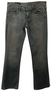 Citizens of Humanity Wash Distressed Boot Cut Jeans-Medium Wash