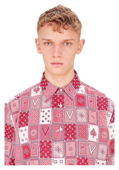 Preload https://img-static.tradesy.com/item/24476917/louis-vuitton-red-button-down-top-size-12-l-0-1-650-650.jpg