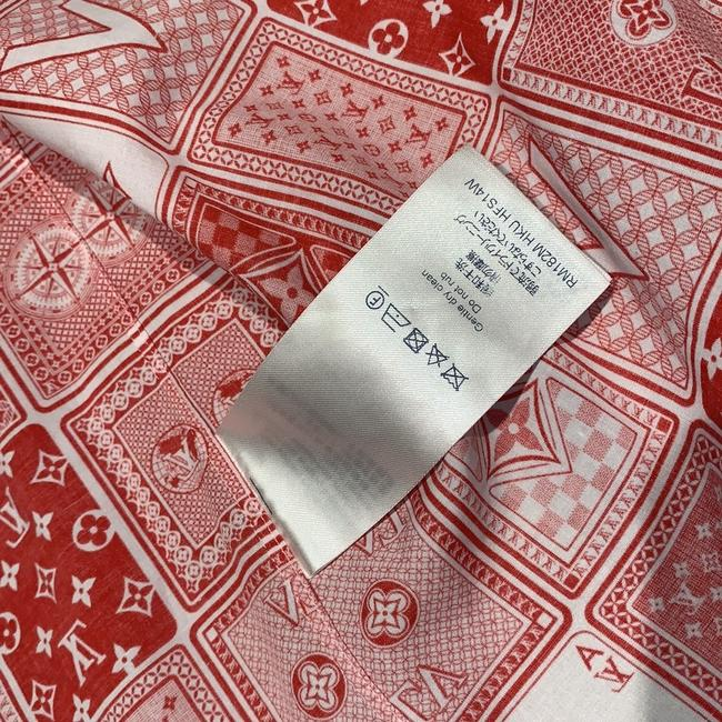 Louis Vuitton Button Down Shirt Red Image 2
