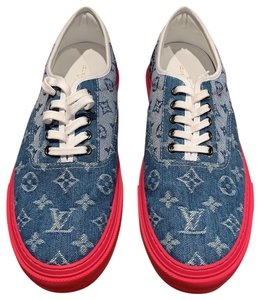 Louis Vuitton Denim / Red Athletic