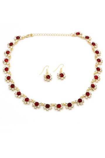 Preload https://img-static.tradesy.com/item/24476964/red-classic-gold-crystal-earrings-set-necklace-0-0-540-540.jpg