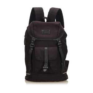 a1cb643329e6 Burberry 8hbubp001 Backpack. Burberry Black Canvas Backpack