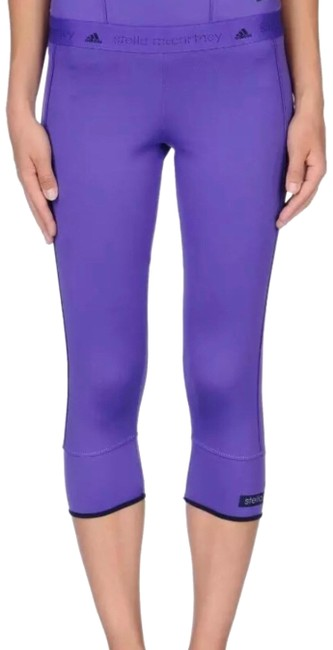 Item - Purple Cropped Tights Activewear Bottoms Size 12 (L, 32, 33)