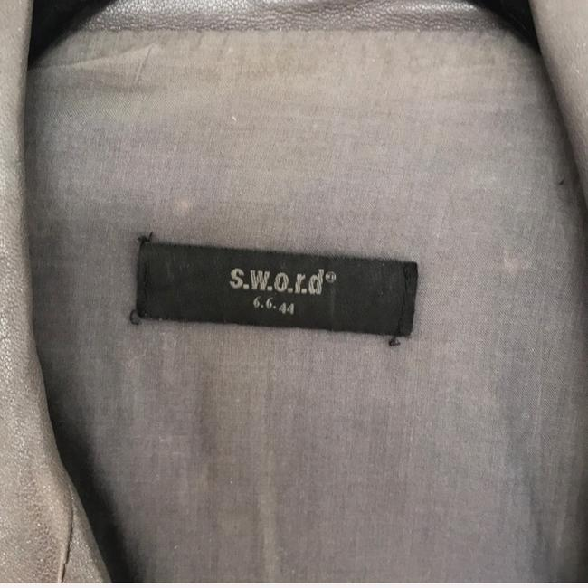 S.w.o.r.d silver Leather Jacket Image 1